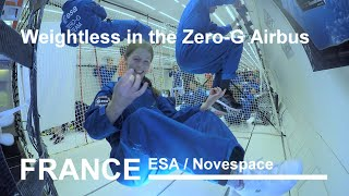 Weightless in the Zero-G Airbus