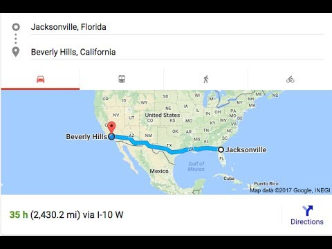 A REALLY, REALLY LONG DRIVE | VLOG - Jacksonville, Florida to Los Angeles, California