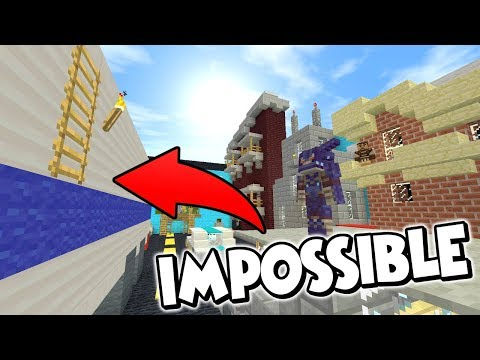 THIS IMPOSSIBLE LADDER JUMP NEARLY BROKE ME !! - Minecraft xbox : Rage Parkour