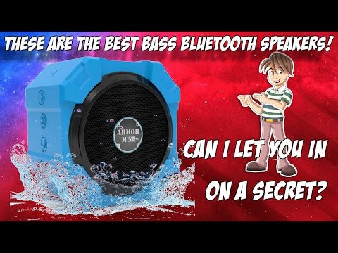 These Have To Be The Best Bass Bluetooth Speakers