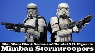 Star Wars S.H. Figuarts and Black Series Mimban Stormtroopers Hasbro Bandai Review