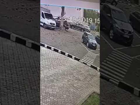 Поджог авто. 25.10.2019