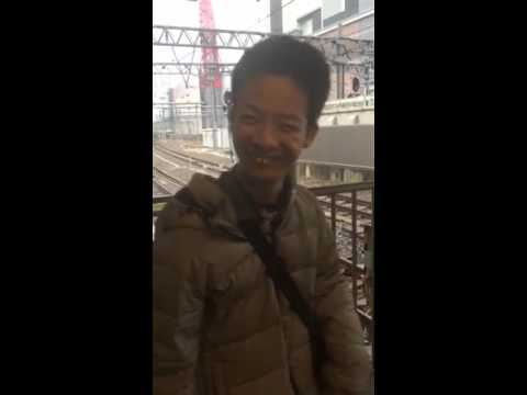 大阪駅にやつが、、、