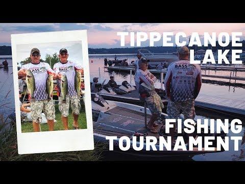 2019 Indiana Bass Fishing Tournament Tippecanoe Lake Indiana