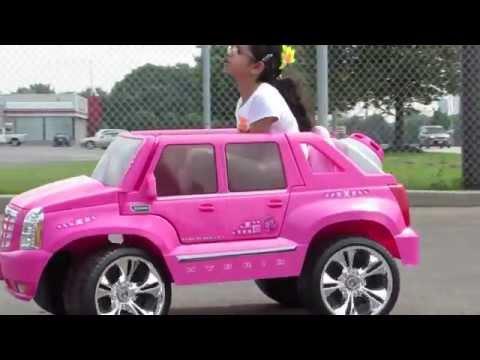 HILLYARD CUSTOM RIM&TIRE PINK BARBIE CADILLAC ESCALADE BARBIE GIRL