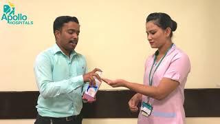 Hand Hygiene How to use an alcohol based handrub