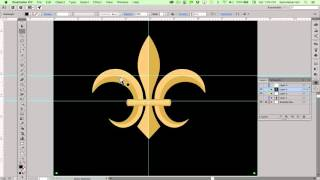 Draw a Fleur de Lis  in Illustrator with the Curvature Tool
