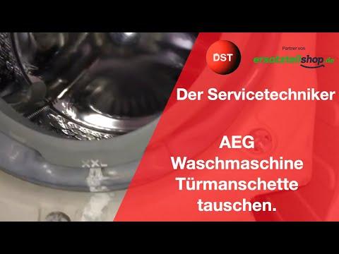 aeg-waschmaschine-faltenbalg-(türmanschette)-tauschen