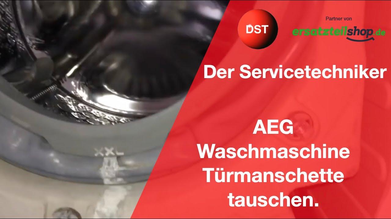 Aeg Kühlschrank Dichtung Wechseln : Aeg waschmaschine faltenbalg türmanschette tauschen youtube