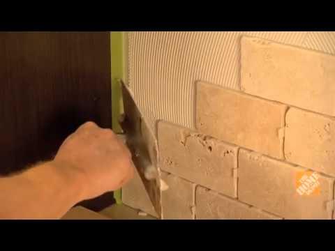 C mo instalar azulejos de pared youtube for Azulejo para pared de sala