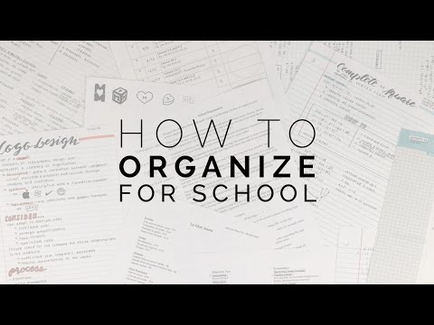 The Very Best System for Organizing and Storing School Papers