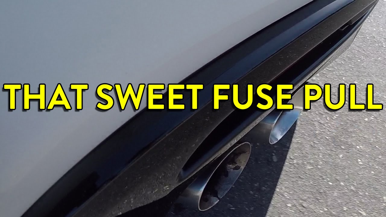 2016 camaro ss fuse pull the sweet sounds of the lt1  [ 1280 x 720 Pixel ]