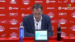 Rueda de prensa de Fran Fernández tras el CD Lugo vs AD Alcorcón (2-4)