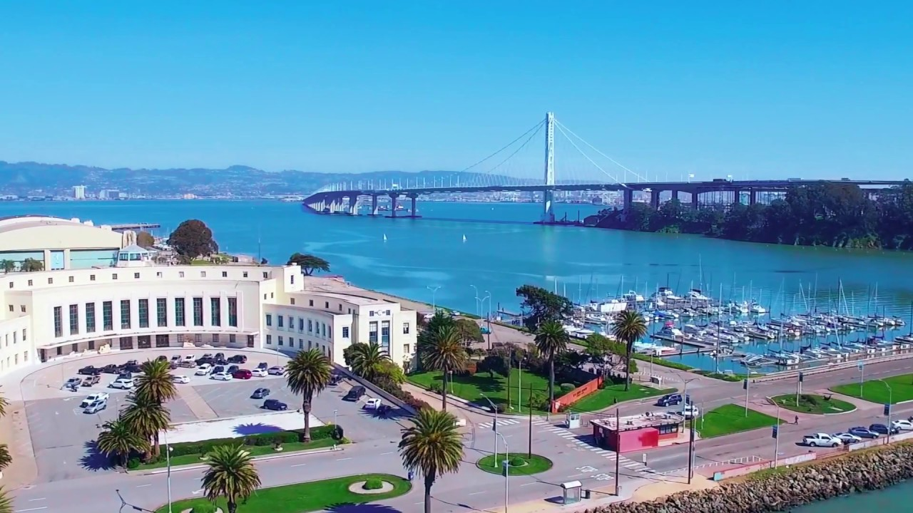 Treasure Island Drone Flying