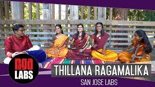 Thillana Ragamalika | Indian Classical Music | San Jose Labs