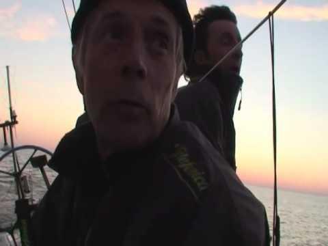 Últimas millas del 'Telefónica Negro' antes de llegar a Sant Petersburgo