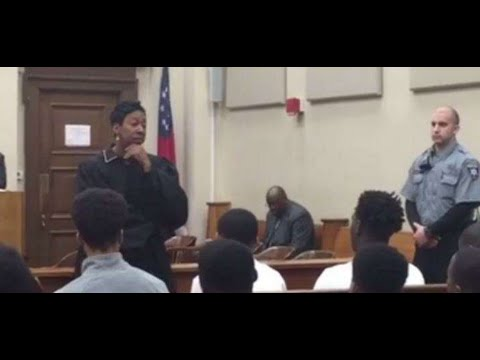 Macon judge goes VIRAL after telling teens to 'stop acting like trash'