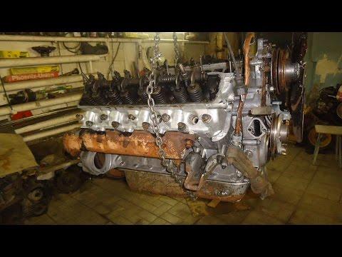 Двигатель ЗМЗ 53 ,разборка часть №1.