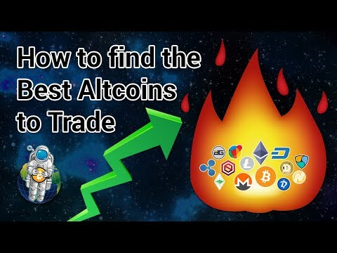 How to find the Best Altcoins to Trade