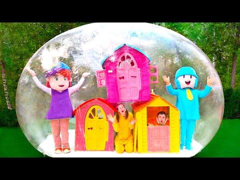 Playhouse to hide Cancion Infantiles de Maya and Mary #21