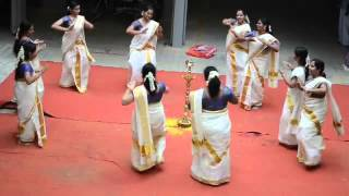 Classical Group Dance (Onam Celebrations during 2014)