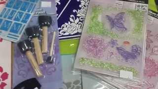 Обзор по трафаретам,  текстурным листам и штампам
