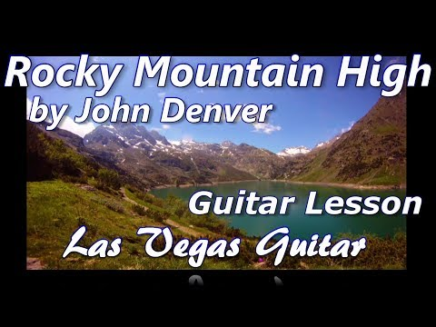 Rocky Mountain High by John Denver Guitar Lesson