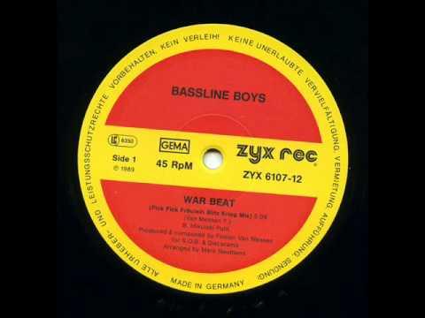 Bassline Boys - War Beat (Fick Fick Fraulein Blitz Kreig Mix) 12