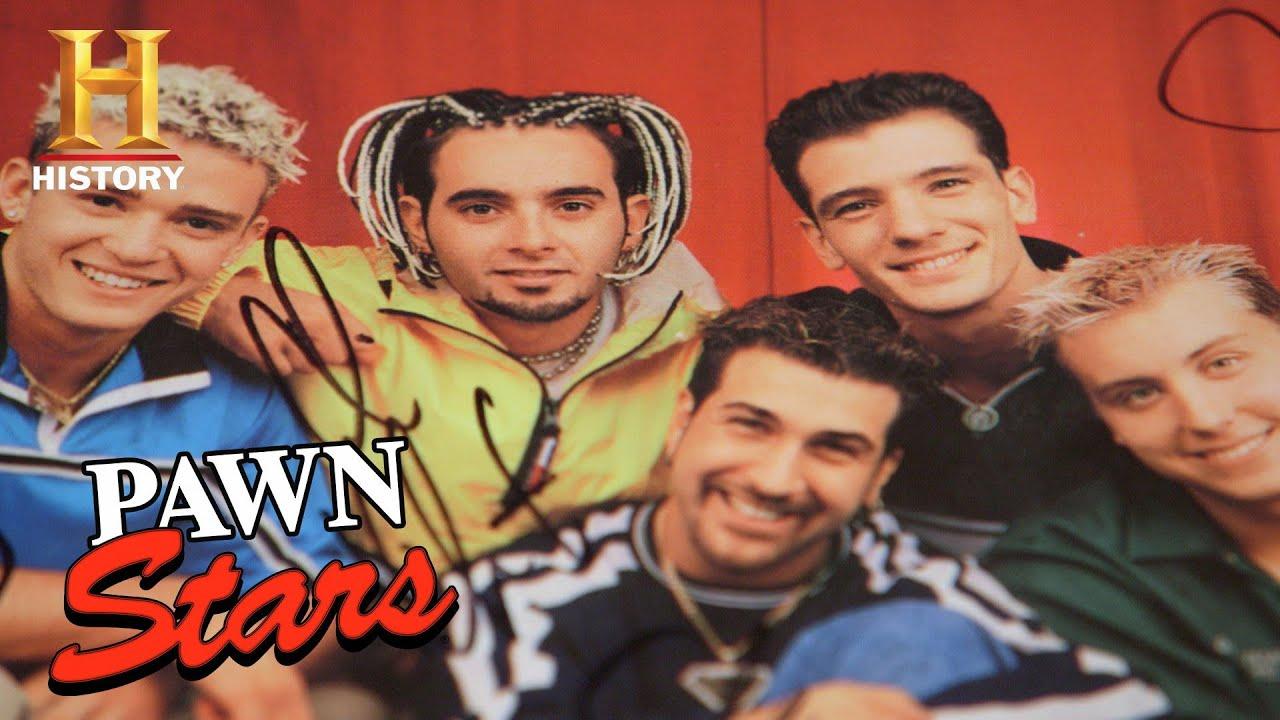 Pawn Stars: RARE NSYNC Memorabilia Authenticated by Joey Fatone (Season 17) | History