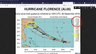 Hurricane Outlook and Discussion for September 9, 2018