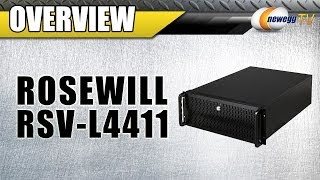 Rosewill RSV-L4411 Black Metal/ Steel 4U Rackmount Server Chassis Overview - Newegg TV