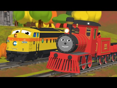 Thumbnail: Learn Numbers, Shapes, Colors and More with Shawn the Train | All Short Cartoons with Shawn