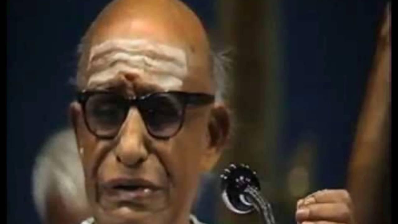 Semmangudi Srinivasa Iyer - Vande Vasudevam - Sri - Annamacharya