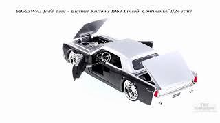 99553WA1 Jada Toys - 1963 Lincoln Continental 1/24 scale
