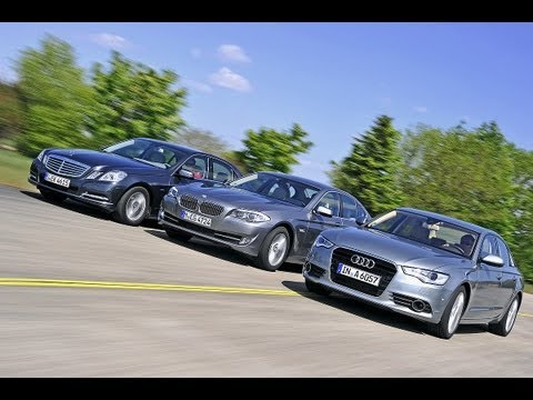 Audi A6, BMW 5er, Mercedes E-Klasse - Businessclass-Limousinen