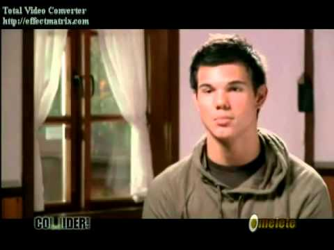 Hourglass (Taylor Lautner Video)