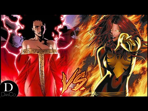 House of M Scarlet Witch VS Dark Phoenix Jean Grey | BATTLE ARENA