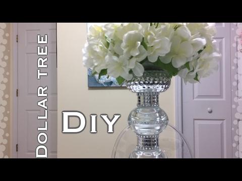 Dollar Tree Glam Centerpiece DIY