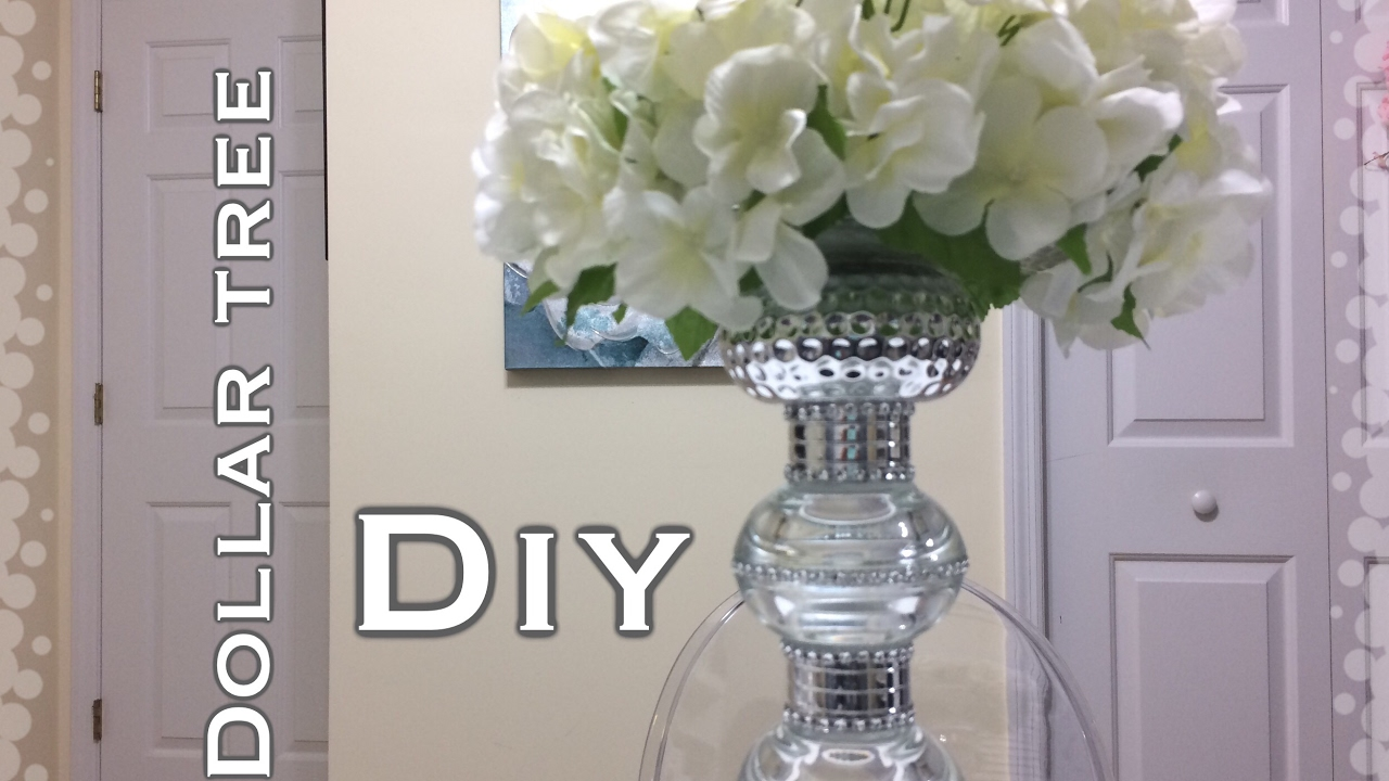 Dollar Tree Glam Centerpiece DIY - Dollar Tree Glam Centerpiece DIY - YouTube