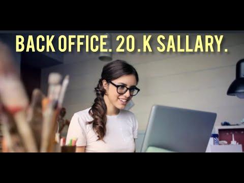Back Office Job   Job In Mumbai   Free Job