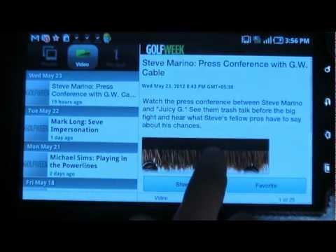 Golfweek – Android app review from ReviewBreaker