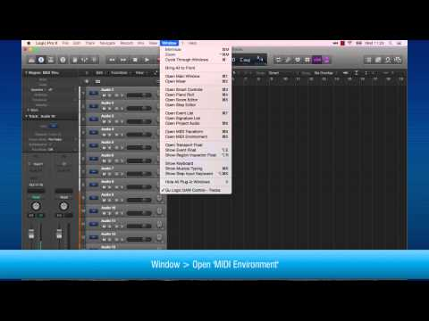 Logic setup with Allen & Heath Qu Series