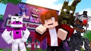 Minecraft FNAF 6 Pizzeria Simulator - VISITING FREDDY