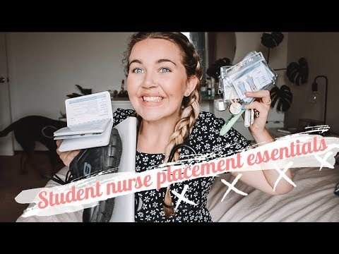 What To Bring On Nursing Placement // Essentials