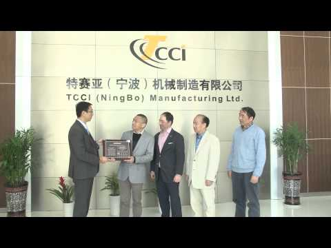 T/CCI Ningbo Receives Caterpillar Supplier Award