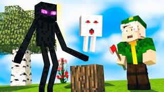 Minecraft pero si ROMPES un BLOQUE...