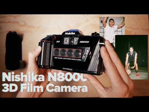 HOW TO TURN PHOTOS INTO 3D GIFS WITH ANY CAMERA - Nishika N8000 3D Film Camera Review and Tutorial.