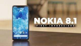 Nokia 8.1 First Impressions!