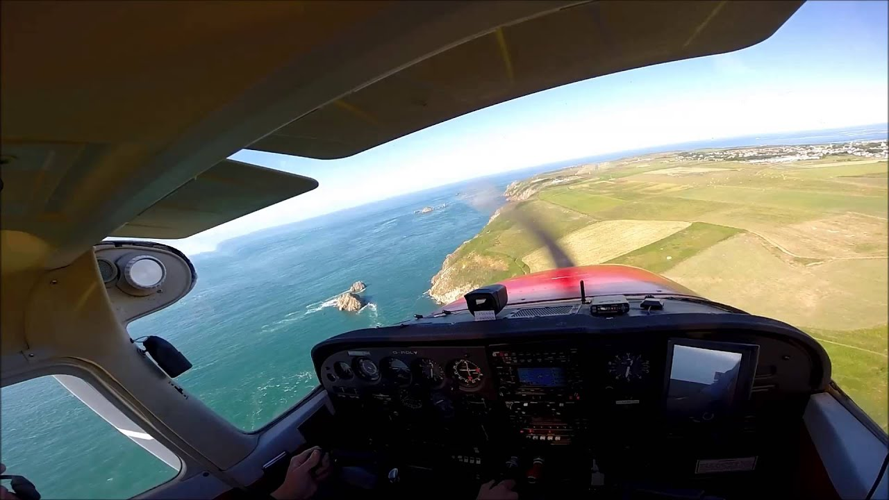 Landing At Alderney Airport In G Roly On 14 07 2014 Youtube