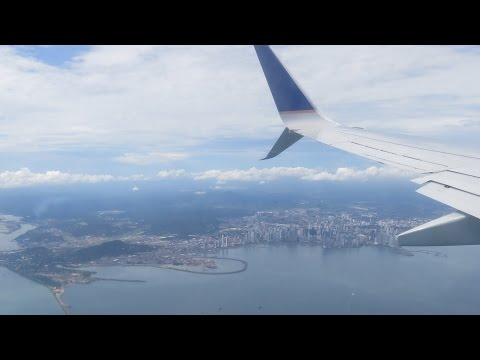 Copa Airlines B737-800 Toronto - Panama City Direct Full Flight